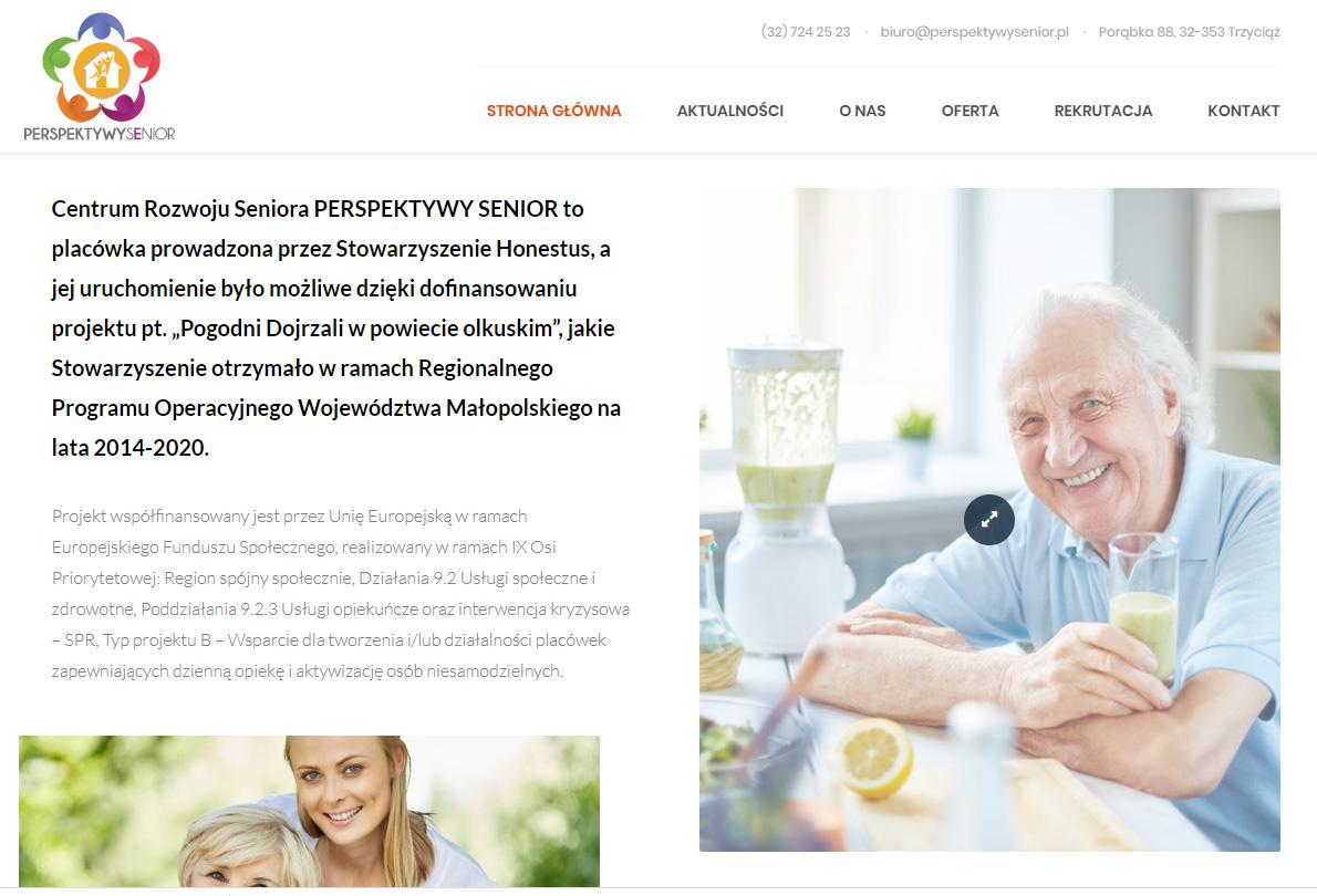 Witamy na stronie Perspektywy Senior